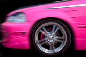 Pink Hotrod — Stock Photo