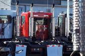 Semi Trucking — Stock Photo
