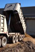 Semi Trucking — Стоковое фото