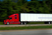 Semi Trucking — Stock Photo