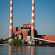 Coal Fired Electric Plant - Stock Photo