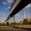 Coal Fired Electric Plant — Stock Photo