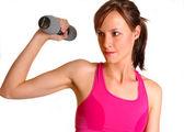 Female Runner Fitness — Stock Photo