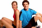 健身夫妇 — 图库照片