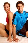 Fitness Couple — Stock Photo