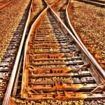 Railroad Tracks HDR — Stock Photo #32545569
