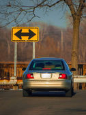 Dead End Road — Stock Photo