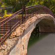 Stock Photo: Park Walk Bridge