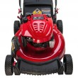 Stock Photo: Red Lawn Mower