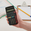 Scientific Calculator for School — Stock Photo #33014931