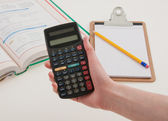 Scientific Calculator for School — Stock Photo