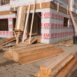 New House Construction — Stock Photo