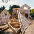 New House Construction — Stockfoto