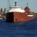 Detroit River Shipping — Stock Photo #7351332