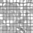 Stock Photo: Abstract Background of Metal Cubes