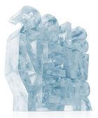 ICE New Year 2013 on white background — Stock Photo
