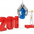 New Year 2013 Concept Image — Stock Photo #18941811