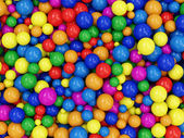 Heap of Colorful Balls — Stock Photo