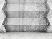 Abstract Concrete Interior — Stock Photo