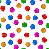 Kleurrijke kerstballen — Stockfoto