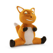 Funny Fox on splits — Stock Photo