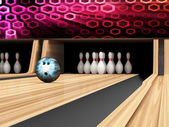 Bowling Ball — Stockfoto