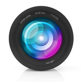 Camera Photo Lens isolated — Stock Photo