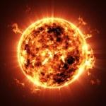 Big Sun Star — Stock Photo #47499779