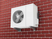 Air Conditioner Fan Ventilation — Stock Photo