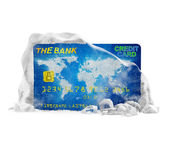 Frozen Bank Account Concept — Stock Photo