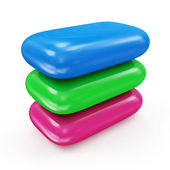 Group of Colorful Soap — Stock Photo