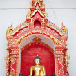Golden Buddhas Images, Thailand — Stock Photo