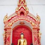 Golden Buddhas Images, Thailand — Stock Photo