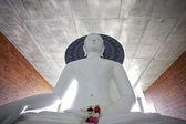 White Buddha — Stock Photo