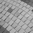 Abstract of ground brick texture — Stock Photo