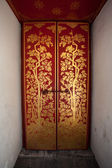 Thai Style Door at The Grand Palace, Bangkok — Stock Photo
