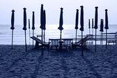 Beach chairs, Thailand — Stock Photo