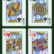 Playing cards - King — Stock Photo #18155491