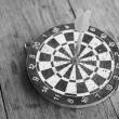 Stock Photo: Darts game
