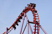 A roller coaster ride — Стоковое фото
