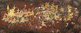 公共艺术绘画在玉佛寺、 泰国 — 图库照片