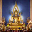 The Most Famous Buddha Image In Thailand — Stock Photo