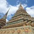 Authentic Thai Architecture in Wat Pho, Bangkok — Stock Photo