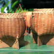Basket wicker is Thai handmade — Foto de stock #27180003