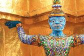 Giant Buddha Statue in Grand Palace, Bangkok — Stock Photo