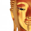 Face of Buddha Statue at Wat Pho, Thailand — Stock Photo