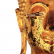 Face of Buddha Statue at Wat Pho, Thailand — Stock Photo #31028147