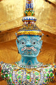 Giant Buddha Statue in Grand Palace, Thailand — Stock Photo