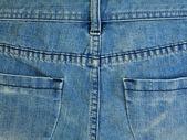 Pantalón jeans azul — Foto de Stock