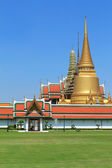 Temple of the Emerald Buddha, Bangkok, Thailand — Stock Photo